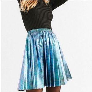 Urban Outfitters Silence + Noise Oil Slick Skirt
